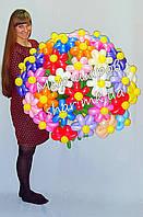 Большой букет ромашек из воздушных шаров, фото 1