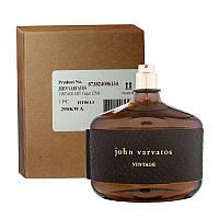 John Varvatos Vintage 125мл Туалетная вода для мужчин Тестер