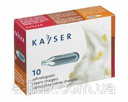 Капсулы для сифона сливок Kayser
