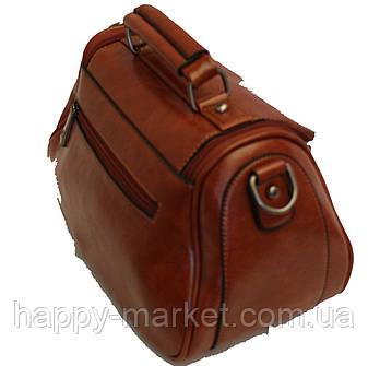 Женская сумка Мини Клатч Weilya fouded 7777-2 Коричневая , фото 2