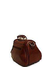 Женская сумка Мини Клатч Weilya fouded 7777-2 Коричневая , фото 3