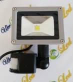 Прожектор светодиодный матричный с  датчиком движения10W