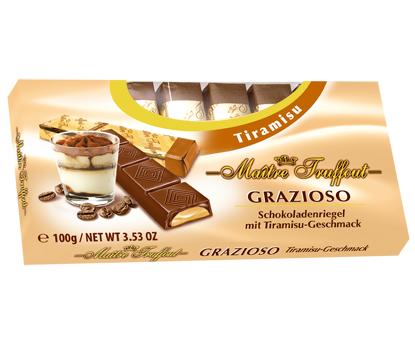 Шоколад Grazioso Capuccino (Грация капучино) 100г. Австрия