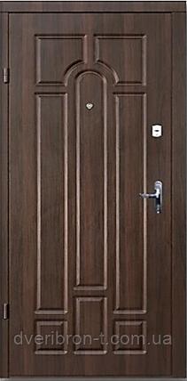 Входная дверь Форт Премиум Классик улица орех коньячный   960х2050, фото 2
