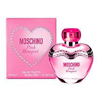 Moschino Pink Bouquet 50мл Туалетная вода для женщин