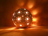 """Керамический светильник """"Шар -1а"""""""