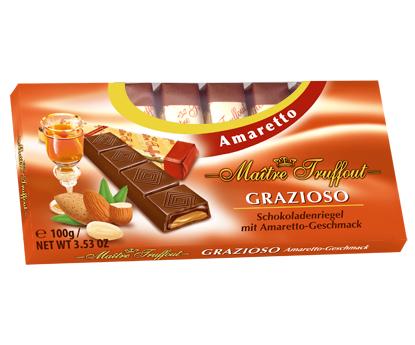 Шоколад Grazioso Amaretto (Грацио амаретто) 100г. Австрия