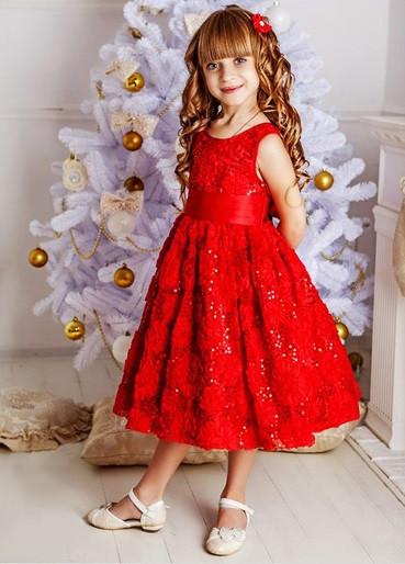 c251d0dde30dd23 Новогодние детские нарядные платья от магазина Sensorik