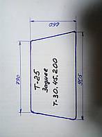 Стекло заднее трактора Т-25 (Т30.45.200) 886х670