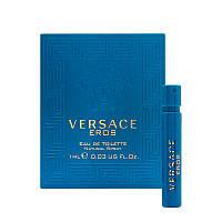 Versace Eros Pour Homme 1мл Туалетная вода для мужчин Пробник