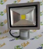 Прожектор светодиодный матричный с  датчиком движения20W