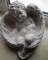 Скульптура ангела спящего 27*24 см