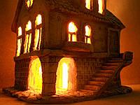"""Керамический светильник """"Дом-3"""""""