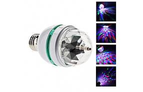 Диско лампа для вечеринок вращающаяся LED lamp