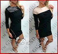 Платье-туника «Minni» черный