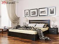 """Деревянная кровать с подъемным механизмом """"Селена"""" 1800х2000 (массив)"""