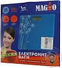 Весы напольные бытовые Magio mg 297 голубые, фото 2