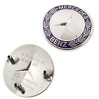 Эмблема на решетку Радиатора MERCEDES W221 W211 E550 S550 E63 Новая Оригинал
