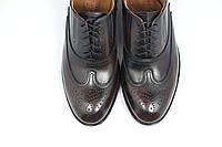 Мужские кожаные коричневые оксфорд