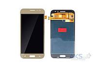 Дисплей (экран) для телефона Samsung Galaxy J2 J200, Galaxy J2 J200F + Touchscreen Original Gold