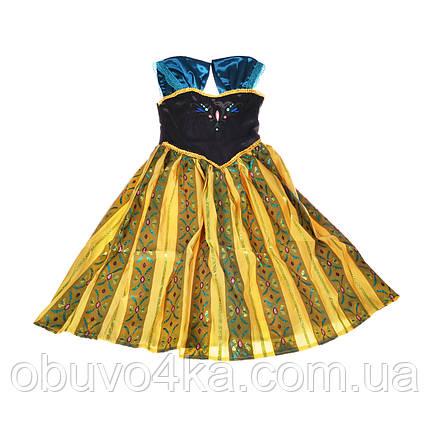 Костюм Анны Холодное сердце Frozen Anna 4-6 лет, фото 2