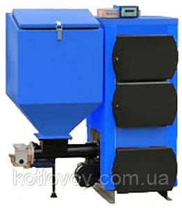 Твердотопливный котел с автоматической подачей УкрТермо (Ukrtermo) 200 А