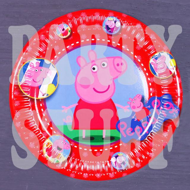 тарелки одноразовые Свинка Пеппа