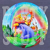 Тарелка одноразовая Винни Пух и друзья 18 см (10 шт), фото 1