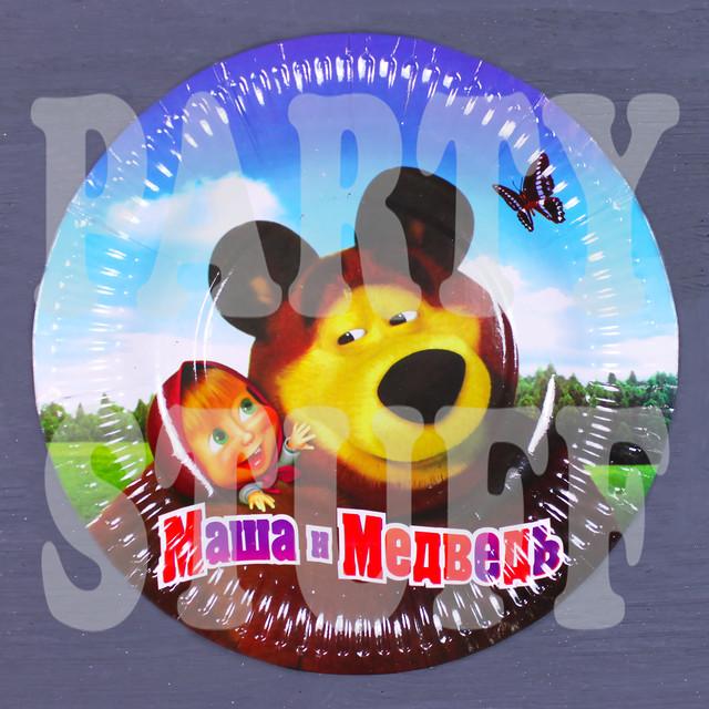 Тарелка детская Маша и Медведь