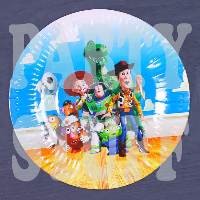 тарелки праздничные История игрушек