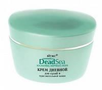 """Крем для лица дневной для сухой и чувствительной кожи """"Dead Sea"""". Белита Biеlita (Беларусь) 45 мл.RBA /56-24 N"""