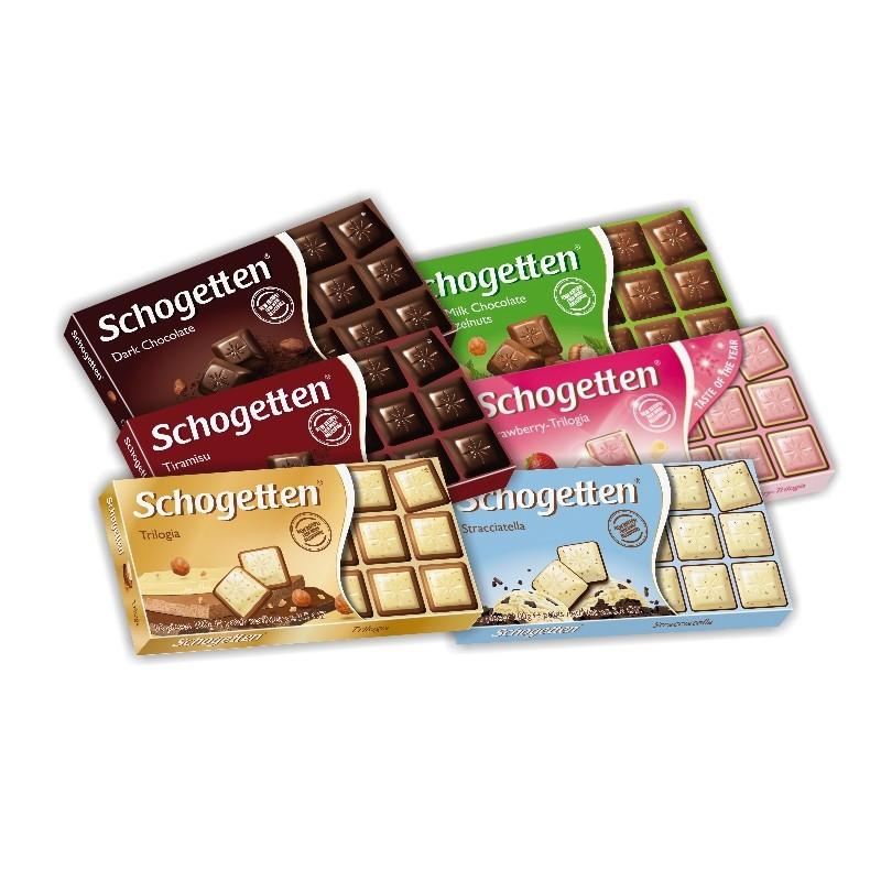 Шоколад Shogetten (в ассортименте) 100g