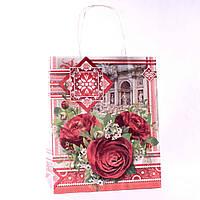 Подарочный пакет бумажный 5002 (26 х 21,5 х 12 см)