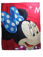 Флисовый плед, Minnie Mouse, размеры 120х150 см, арт. 59837