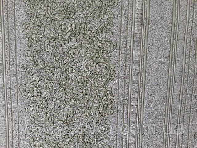 Гипюр 2 3542-04 виниловые обои на флизелине,длина 15 м,ширина 1.06 м,пр-во Славянские шпалеры
