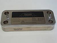 Теплообменник ГВС вторичный пластинчатый Beretta Super Exclusive, CITY, Mynute 12 пл. R8036