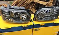 Передние фары рестайлинг оптика Range Rover Vogue L322