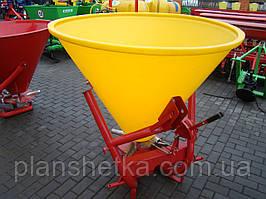 Разбрасыватель удобрений Jar Met 500 л. Пластик, Польша