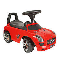 Толокар BABY MIX Mercedes SLS AMGmatte Black ,Grey metallic  Красный