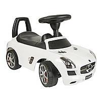 Толокар BABY MIX Mercedes SLS AMGmatte Black ,Grey metallic  белый