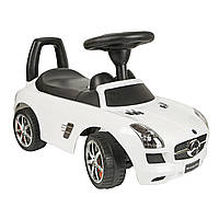 Толокар BABY MIX Mercedes SLS AMGmatte Black ,Grey metallic  белый