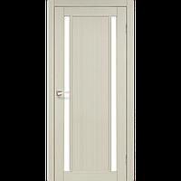 Дверь ORISTANO OR-02. Со стеклом сатин (дуб беленый,дуб грей,орех,дуб марсала). KORFAD (КОРФАД)