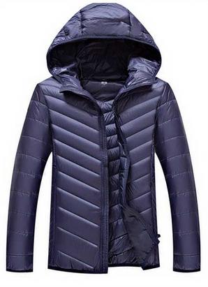 Мужская куртка с капюшоном. Модель 999