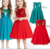 Д-101226 Красивое платье детский интернет магазин