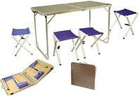 Набор мебели (стол+4 ст.) TRF-035 Tramp