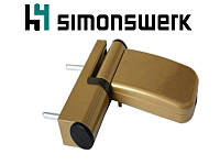 "Петля Simonswerk Siku 4045 (80 кг.), размер 15-19, ""бронза""., фото 1"