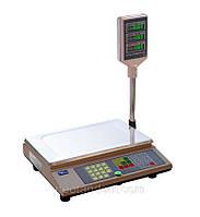 Весы торговые ВТА-60/15-5, электронные, с поверкой