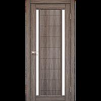 Дверь  ORISTANO OR-04. Со стеклом сатин (дуб грей,дуб беленый,орех,венге,дуб марсала). KORFAD
