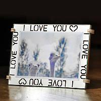 Фоторамка I love you 10x15