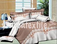 Двуспальное постельное белье из бязи в горошек